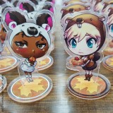 Maple Syrup Special Edition - MC Bourbonnais Original Character Standee - Aimsee & Keira Package