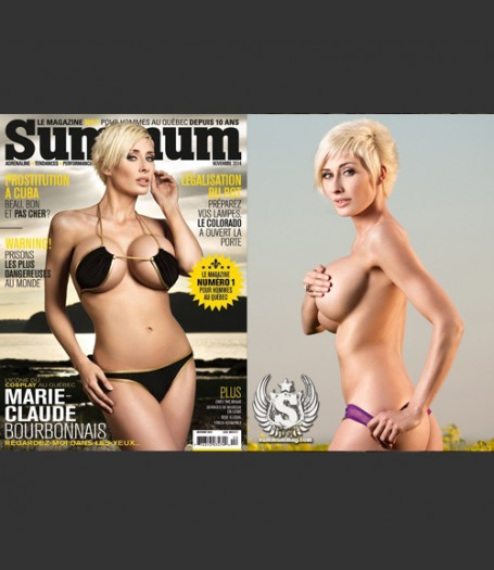 Summum Magazine - MC Bourbonnais on the Cover