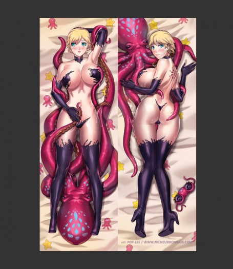 MC Bourbonnais Original Character Artwork - Aimsee Dakimakura by Pop-Lee