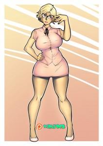 mc_bourbonnais_original_character_aimsee_pink_suit_by_xamrock