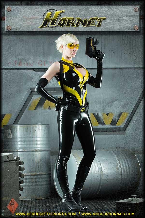 Marie-Claude as Hornet - Photographer: Vincent Cadoret