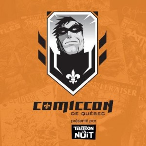 Comiccon de Québec Logo