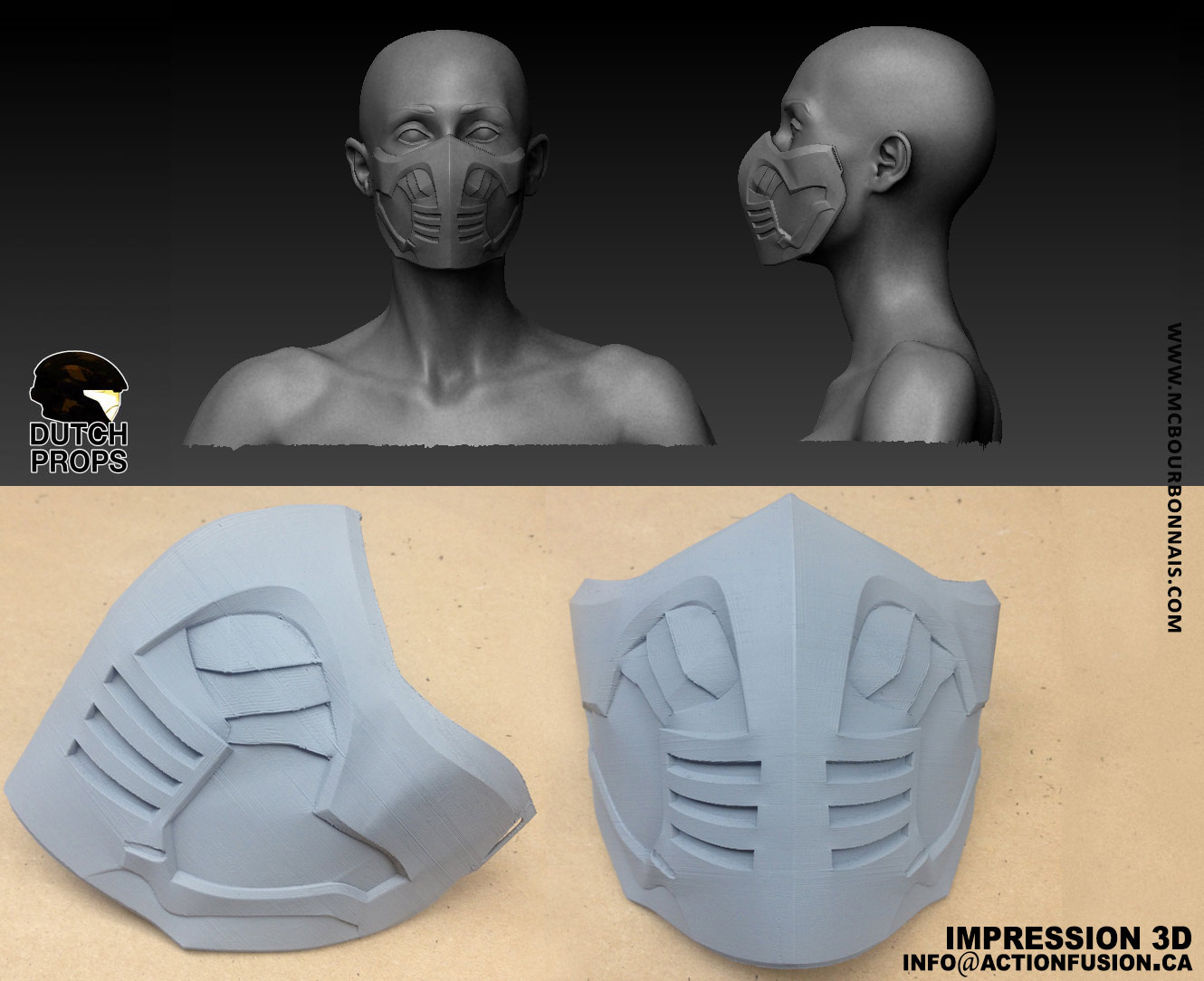 Mortal Kombat X Scorpion Cosplay Mask 3d Print Cotton Material