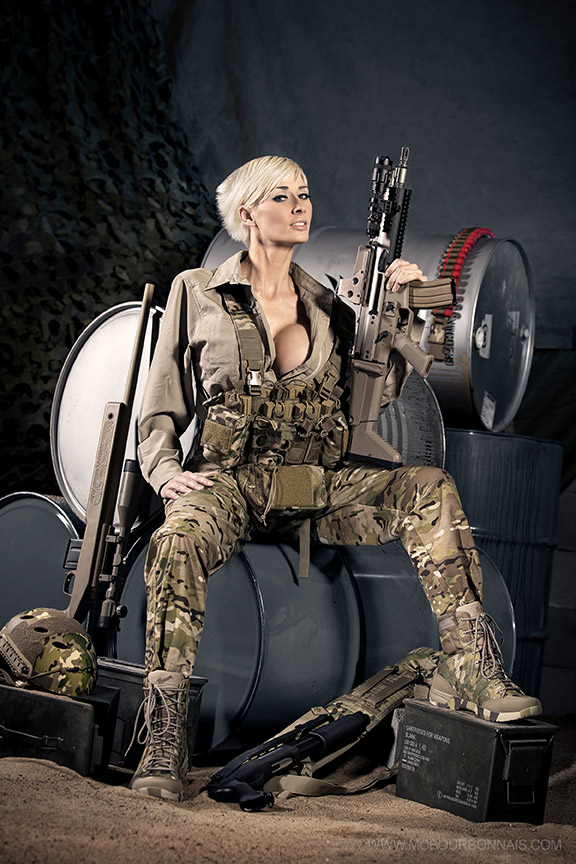 Airsoft Photoshoot by Frédéric Tremblay - Marie-Claude ...